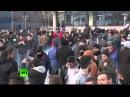КОСОВО. В Косово протестующие подожгли здание парламента