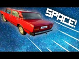 DRIFTING A SPACE-LADA  - Galactic Junk League overview