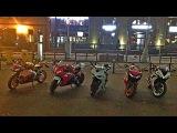 №40 - Moto night 18.09.15 p2 - Приключение мотоциклов Honda CBR1000RR &amp Ducati Panigale - #Yxmbl #40