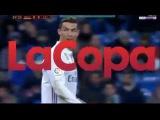 Real madrid vs Celta de vigo - Ronaldo try so hard to get penalty - copa del rey 18012017