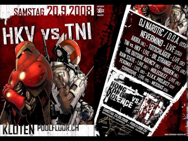 Narotic vs. D.O.A. Live @ HKV vs. TNI (Kloten, Switzerland | 20.09.2008)