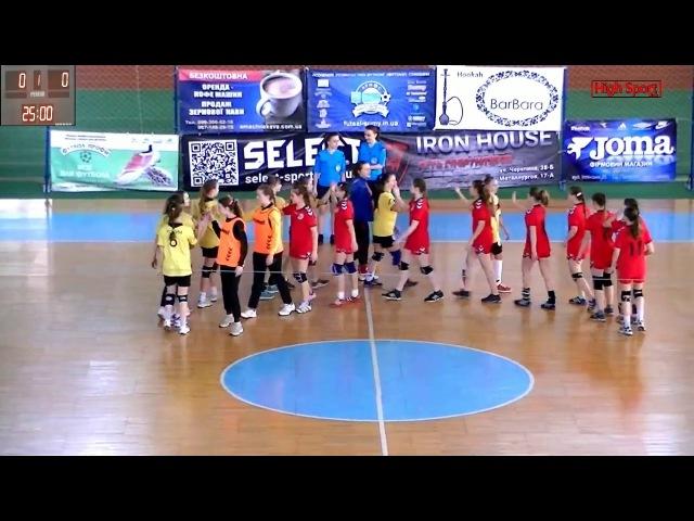 Гандбол. Чемпіонат України 2003 р.н. КДЮСШ