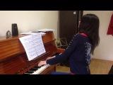 Наш преподаватель Абгарян Мариам исполняет произведение Роберта Шумана