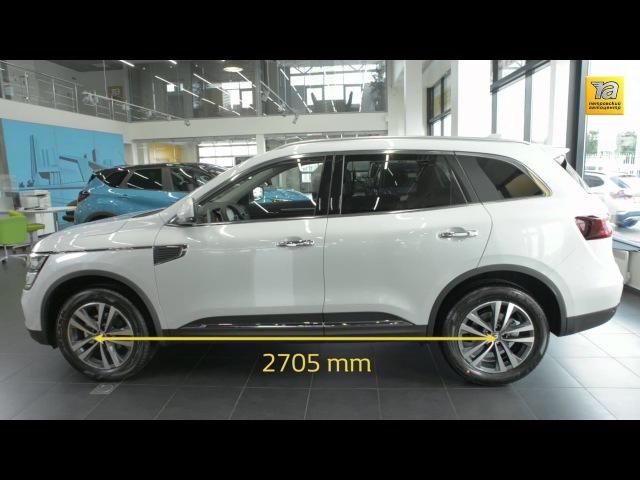 Новый Renault KOLEOS в Петровском Автоцентре