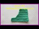 Вязание крючком для начинающих Урок 34 Вывязывание проймы ✿ Вязание крючком ✿ Knitting an armhole ✿