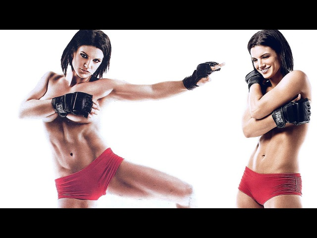 Девушка боец Gina Carano -Чемпионка мира MMA