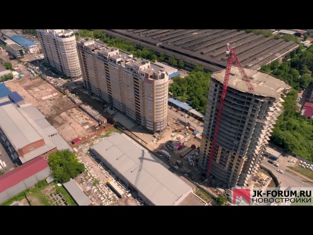 ЖК Элегант 11 мая 2017 Краснодар ул Старокубанская 131 снято на DJI Phantom 4 pro