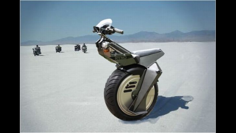 Ryno Motors - самобалансирующий одноколессный электроскутер, электромотоцикл, уницикл