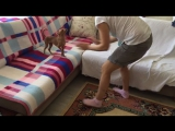 Варвара у себя дома с мамой( Турции)