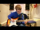 Ruby, Kaiser Chiefs guitar cover by 12 year old Stuart