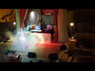 Maris Abe (Shams) Improvisation Tabla Solo @ Al Hadheerah, Dubai 3169