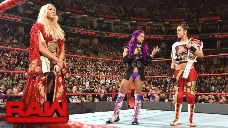 [WWE QTV]Мандей Найт[Raw]☆[28 March 2017}Segment]Bayley Sasha Banks vs Charlotte Flair Nia Jax]☆[Бейли Саша Бэнкс п Шарлотт Ная]