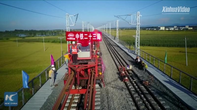 Харбин-Цзямусы – самая длинная высокоширотная скоростная железнодорожная магистраль в Китае