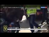 Байкеры прокатили медведя на мотоцикле по Сыктывкару