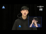 170616 Produce 101 11. Bölüm - Stajyerler İlk Günkü Videolarını İzliyor (Türkçe Altyazılı)