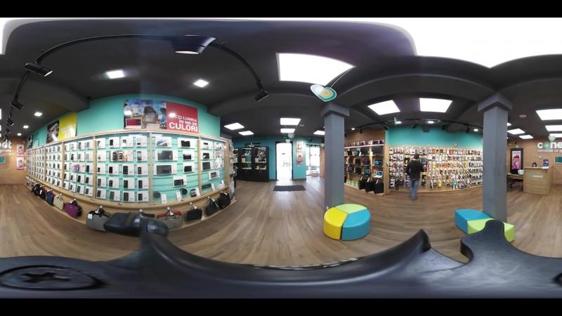 Excursie 360° în magazinul Conect