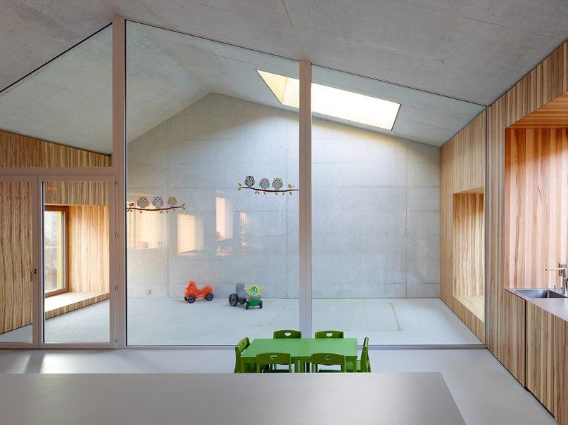 ЦЕНТР ПО УХОДУ ЗА ДЕТЬМИ ОТ SAVIOZ FABRIZZI ARCHITECTES http://adcitymag.