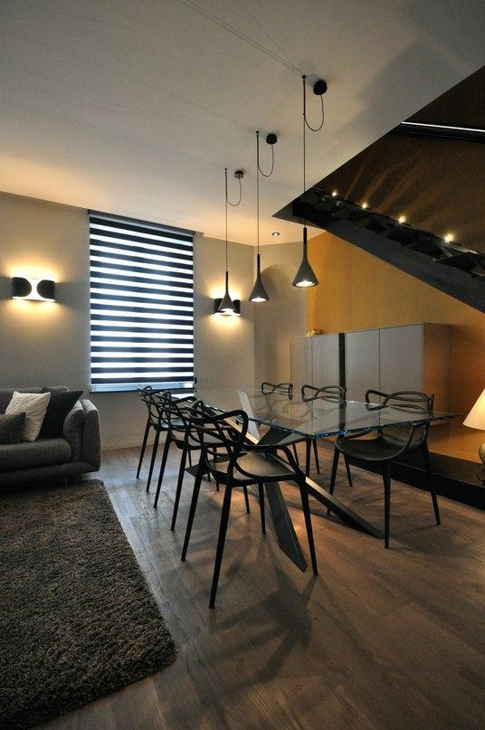 Двухуровневые апартаменты с террасой во Франции