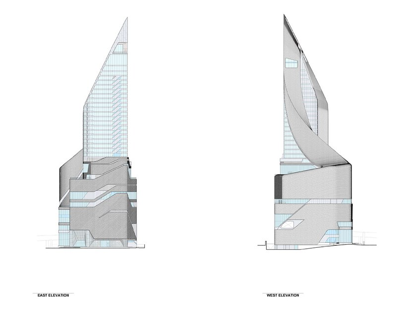 AL_A clads sinuous central embassy tower in bangkok with 300,000 aluminum tiles (Part 2)