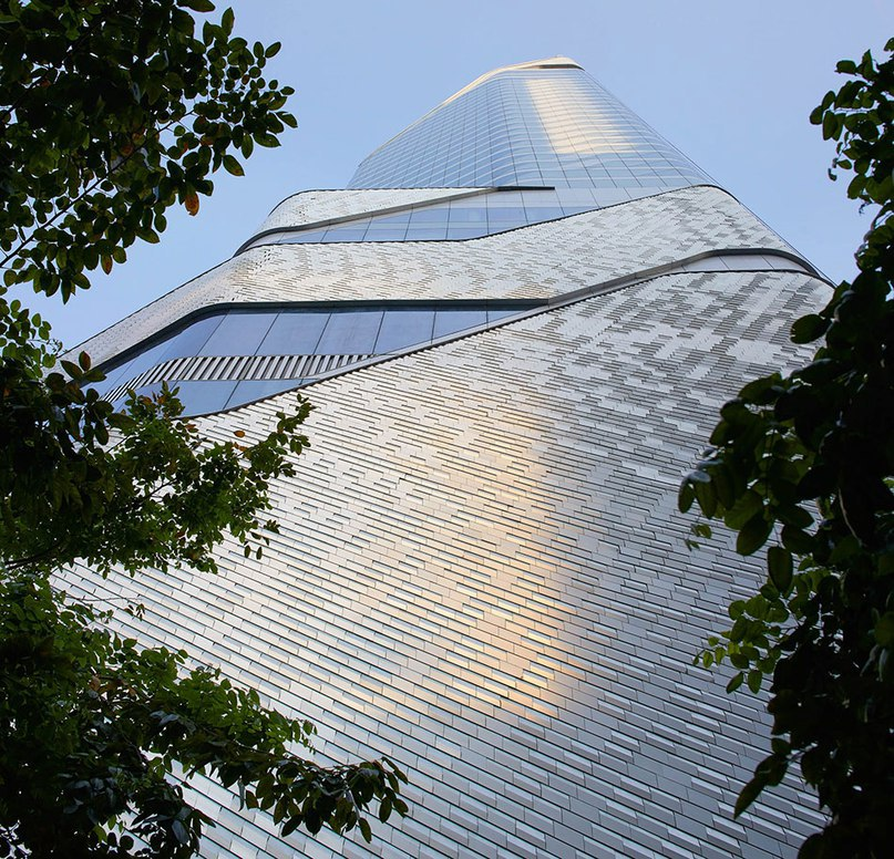 AL_A clads sinuous central embassy tower in bangkok with 300,000 aluminum tiles (Part 1)