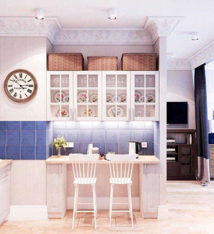 Дизайн квартиры-студии (24 кв.