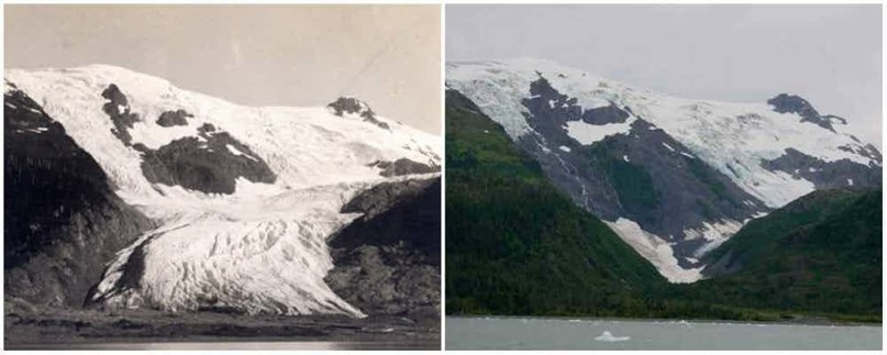 До и после - как время изменило поверхность Земли