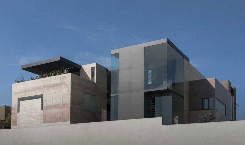 Частный дом в Мексике#дома #архитектура #ландшафт