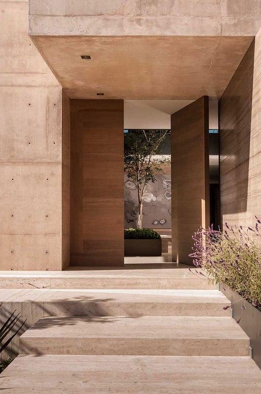Частный дом в Мексике #дома #архитектура #ландшафт