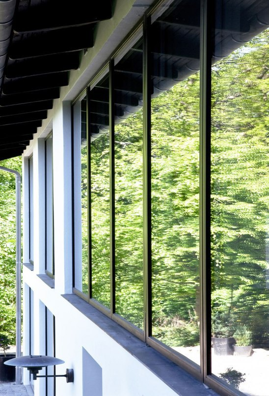 Частный дом в Дании #дома #архитектура #ландшафт