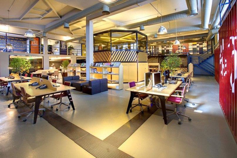 Дизайн интерьера офиса Youth Republic от студии KONTRA