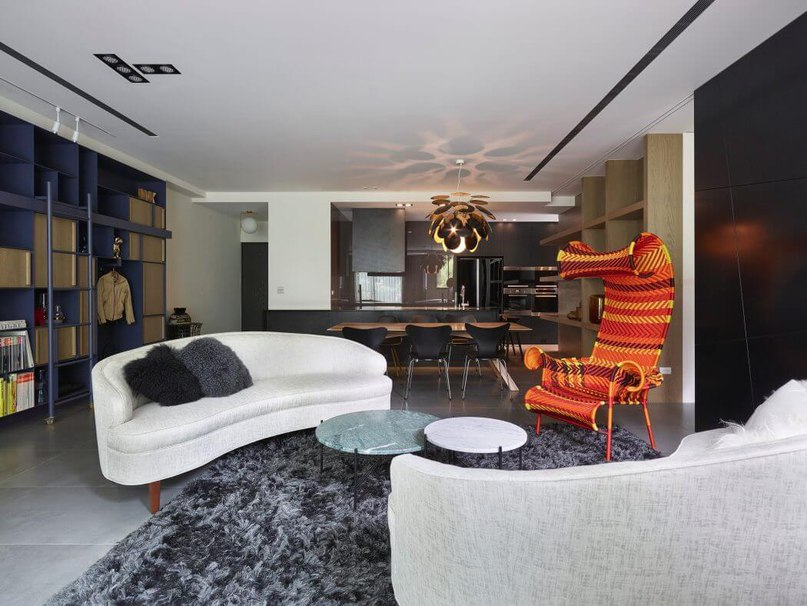 Chic Apartment for Young Couple in Taipei