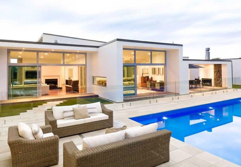 Частный дом в Новой Зеландии #дома #архитектура #ландшафт