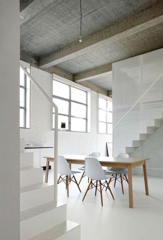 Жилой лофт в Брюсселе от adn Architectures  Студия adn Architectures представила проект жилого лофта FOR в Брюсселе, Бельгия.