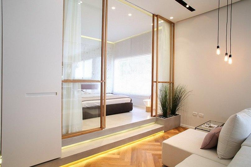 Современная квартира с элементами лофта  Проектная студия Dori-interior design оформила интерьер апартаментов, расположенных на бульваре Ротшильда — в самом сердце Тель-Авива, Израиль.