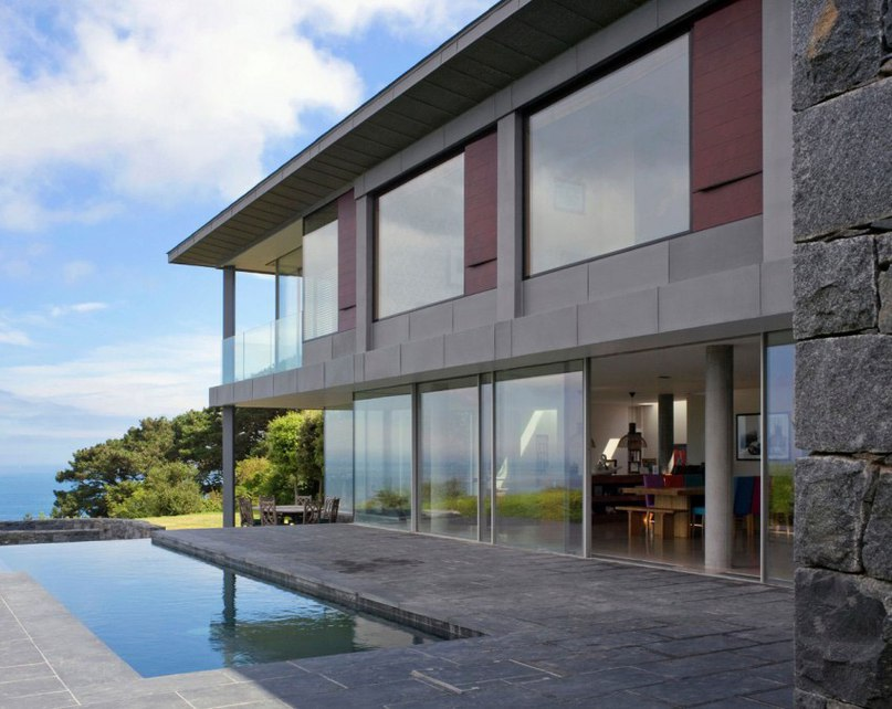 Частный дом в Гернси #дома #архитектура #ландшафт