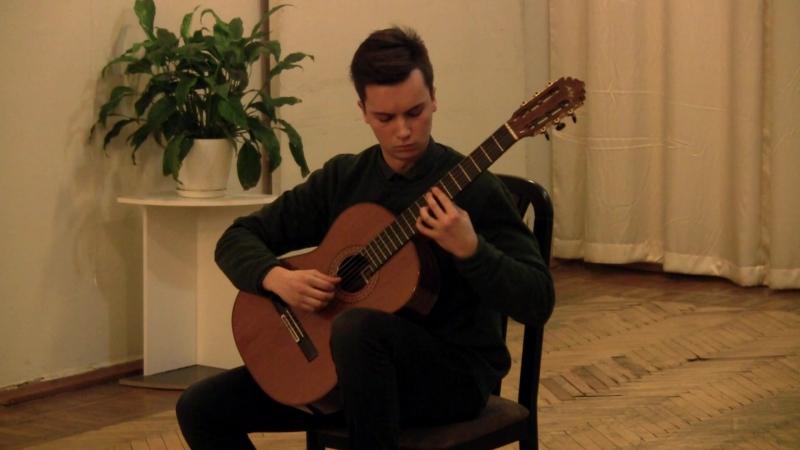 Вечір Гітарної Музики (18.02.17) Царук Сергій