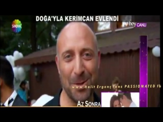 Halit Ergenc IS DANCING . Dogas wedding 3.9.2014