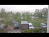Ураган в Москве 29.05.2017 - улетела ракушка