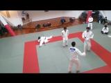Тренировка сборной Японии по дзюдо в СК
