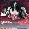25.10 Cellar Darling/Sirenia/The Agonist в С-Пб!