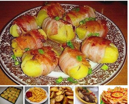 10 самых вкусных блюд из картофеля 1) КАРТОФЕЛЬ