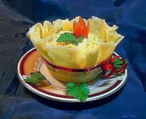 12 рецептов красивых салатов Салат «Королевский» Когда селедка под