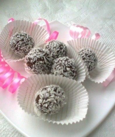 Бригадейро (конфеты из сгущенки). Бригадейро — вкусные конфеты,