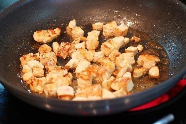 Рис с брокколи и курицей Несмотря на кажущуюся