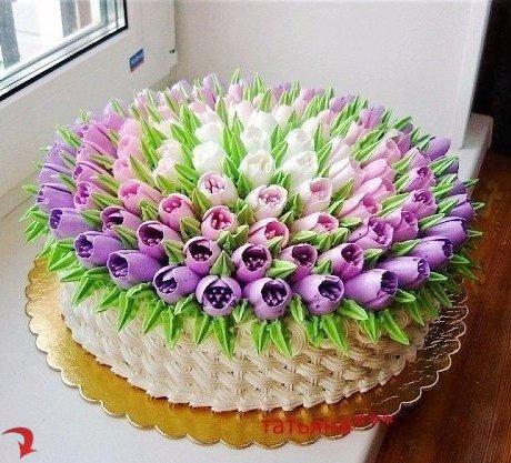 Просто красивый тортик!