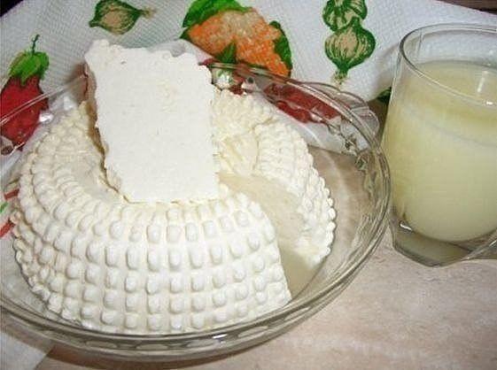"""Домашний сыр Замечательный рецепт домашнего сыра. Быстрый и """"без"""