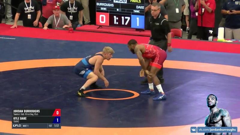 FNL - Jordan Burroughs (Sunkist Kids WC) vs. Kyle Dake (TMWC)