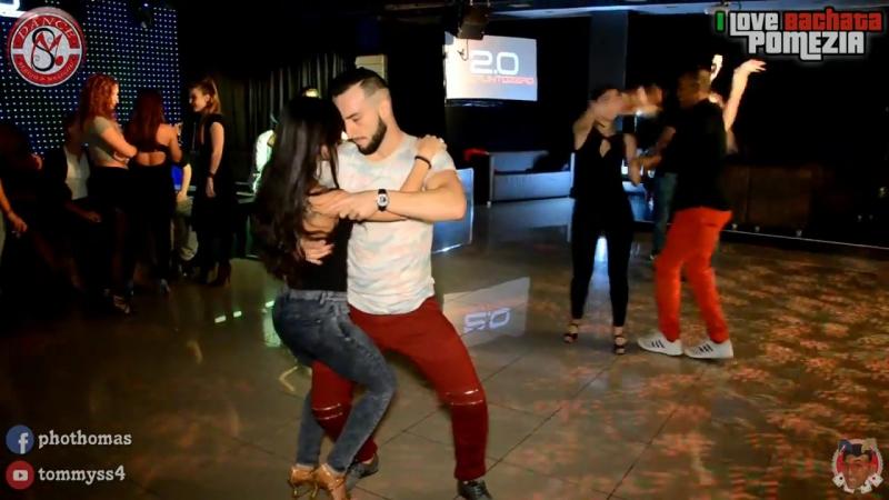 Sergio y Marichu [Social Bachata] @ I Love Bachata Pomezia 2016