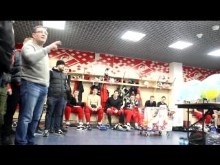 Фанаты «Спартака» настраивают игроков на матч с ЦСКА