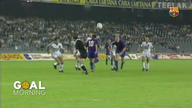 Утро-гол от Барселоны: Куман против Трабзонспор в сезоне 1990/91